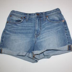 Women's Madewell Cut Off Shorts Denim Jean Size 27